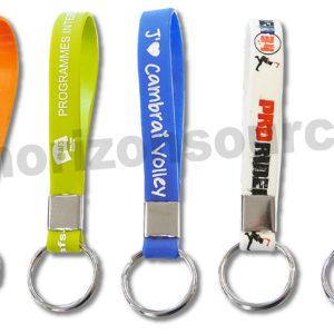Porte-clés en silicone